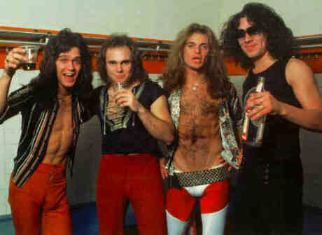 Origin's band - furgone, van Halen ?