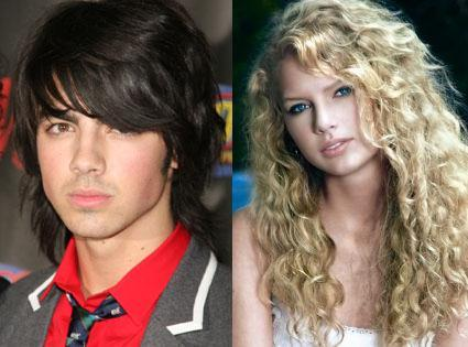 Joe Jonas and Taylor Swift fought each other through songs, which songs?