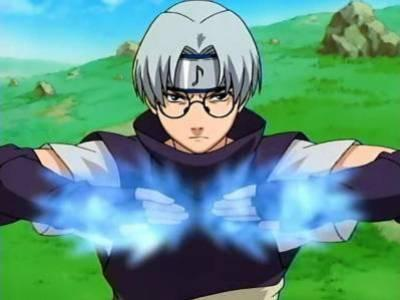 Kabuto's power is about on par with...