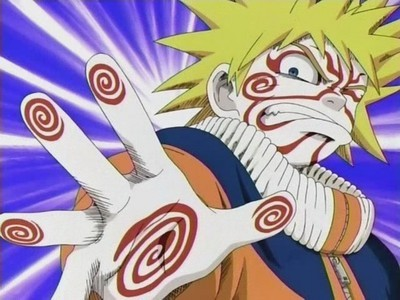 Did Naruto ever create a jutsu all by himself?