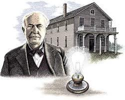 T/F : Thomas Edison was afraid of the dark ?
