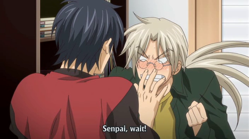 Why was senpai mad ?