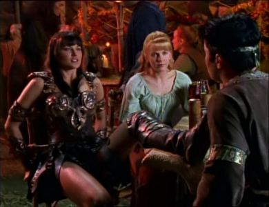 What Guter Rat on the use of Gold did Xena give Agranon?