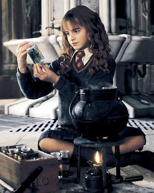 in what episode Hermione make potions polyjuice