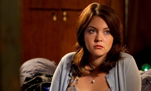 Who killed the character that Lacey Turner plays and where?