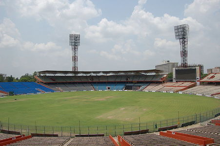 Eden Gardens is the home ground for the...