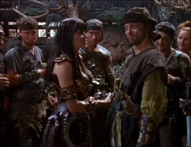 "Antonius proclaimed: ""Long live Dionysus!"" Entering the tavern Xena wondered: ""Long live who?"" What did Xena mean by that?"