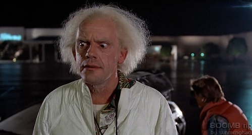 Which Back To The Future film is this scene from?
