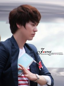 When was kyuhyun's second car accident??