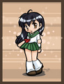 What color is Kagome´s room?