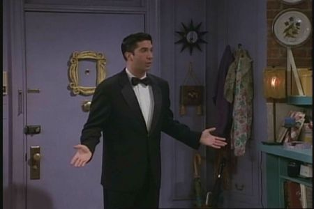 "In ""TOW No One's Ready"" what did Ross almost do to prove how much he wanted Rachel to go to the museum benefit?"
