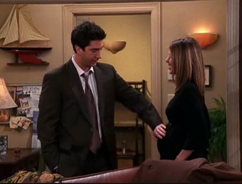 "In ""The One In Massapequa"", what does Rachel say at the end about Ross's supposed proposal?"