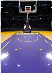 How wide is a regulation NBA backboard?
