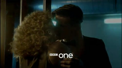 what episode in series 6 dose she kiss the doctor in?