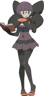 What region is Elite Four Shauntal from?