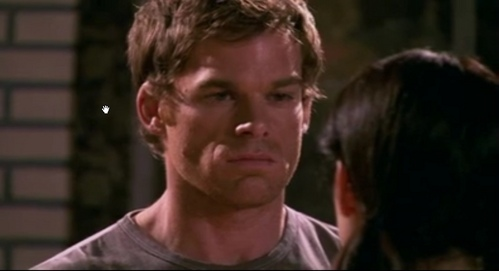 What is Dexter thinking ?
