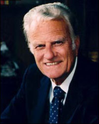 True or False evangelist Billy Graham was terrified by the exorcist