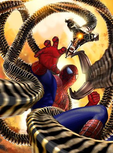 who is spider man fighting