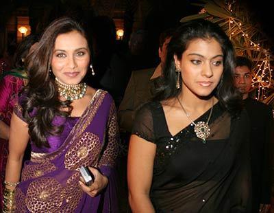 How is Kajol related to Rani?