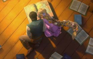 The sea near _______ is pointed 의해 Rapunzel when she and Flynn are looking at the world map in the town.