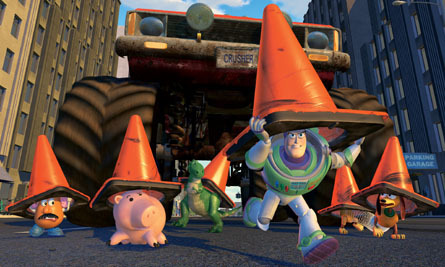 In Toy Story 2, Al drove a car like _____ from Cars.