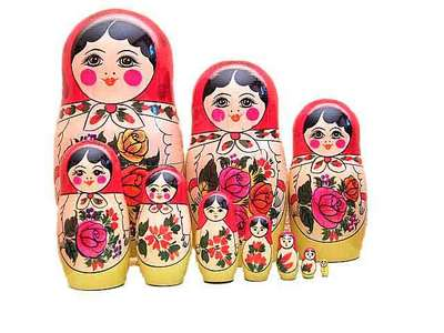 The name of this Russian souvenir (traditional toy in past) is ... doll
