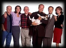 """What 年 did the 显示 """"Frasier"""" start airing?"""