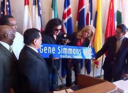 In 2011, Gene was presented the key to the city in Dallas, Texas?