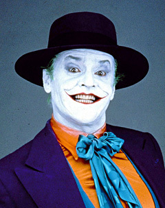 in the old batman movies (but not as far back as adam west) who turned into the joker?