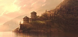 What is the name of the lake retreat that Anakin and Padme were married at?