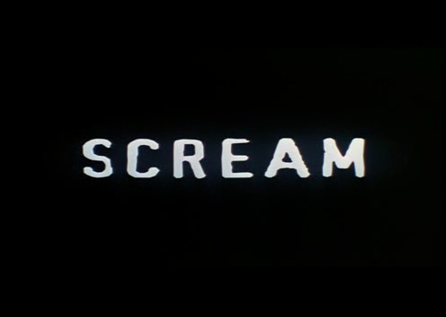 What is the name of the song playing at the end of Scream 1, just before the credits roll?
