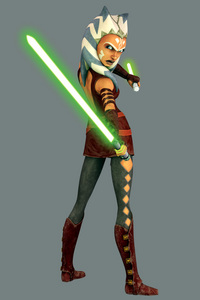 What does Anakin call his padawan, Ahsoka?