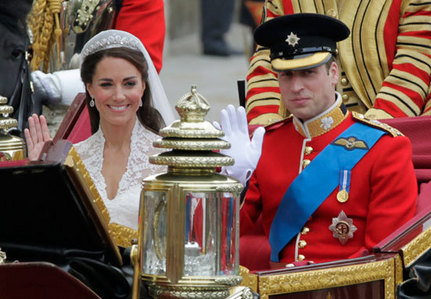 Kate and William met in Scotland