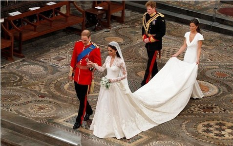 Where did William and Kate marry?