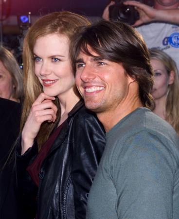 Nicole&#39;s ex-husband, Tom Cruise sent her enough flowers to fill a room to congratulate her on the birth of her baby Sunday Rose in July 2008