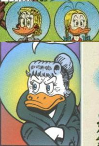 what are the names of the 3 aunts donald has?