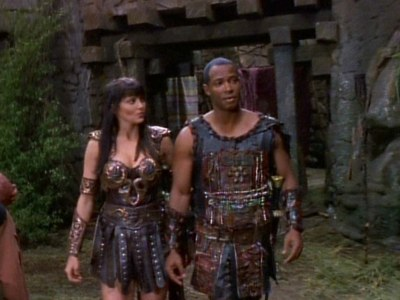 What kind of relationship did Xena and Marcus have in the past?