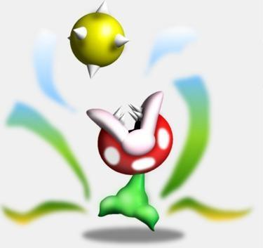 Mario Enemies - When Mario isn't around, they walk around on two legs, like Ptooies