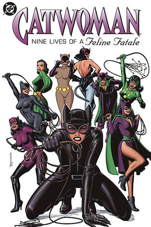 2.What is Catwoman's real name?
