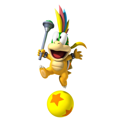 Nintendo Characters - He is known to be exceedingly immature, prefering to play jokes and clown around rather than seriously help with his father's schemes