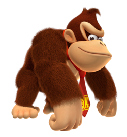 FIRST APPEARANCE - Donkey Kong