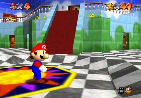 GAME SCORE - Super Mario 64 (N64) was given __/10 by Gamespot