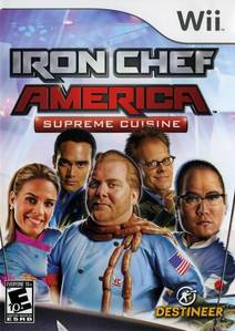 GAME SCORE - Iron Chef America (Wii) received a score of __/10 from GameSpot