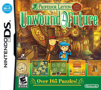 GAME SCORE - Professor Layton and the Unwound Future (DS) received a score of __/10 from GameSpot