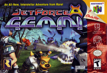 GAME SCORE - Jet Force Gemini (N64) received a score of __/10 from GameSpot