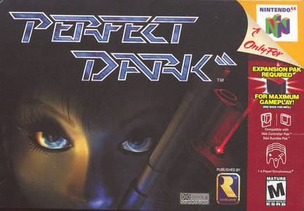 GAME SCORE - Perfect Dark (N64) received a score of __/10 from GameSpot