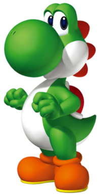FIRST APPEARANCE - Yoshi