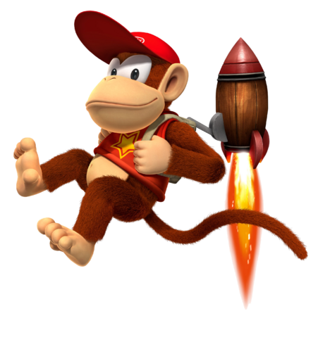 FIRST APPEARANCE - Diddy Kong