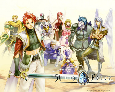 What's the name of the main character in Shining Force Neo(PS2)?