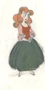 This is concept art of what Disney girl?